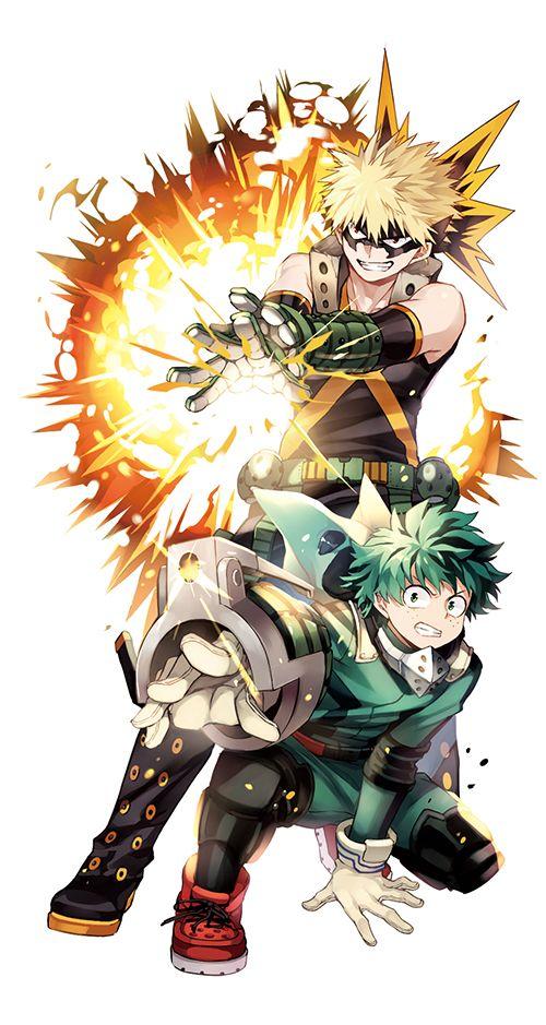 Boku no Hero Academia Katsuki Bakugou, Midoriya Izuku