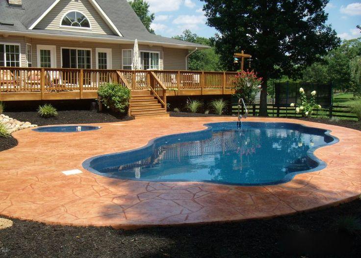 Dads Deck Cincinnati Pool Professionals Blue Hawaiian Fiberglass Swimming Pool Warranty
