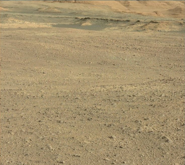 NASA's Mars rover Curiosity acquired this image using its Mast Camera (Mastcam) on Sol 1887