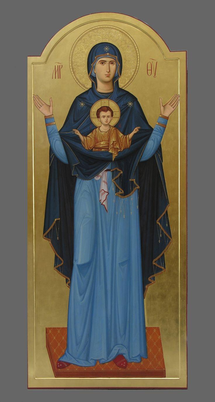 Божия Матерь Знамение<br/>(нерушимая стена)