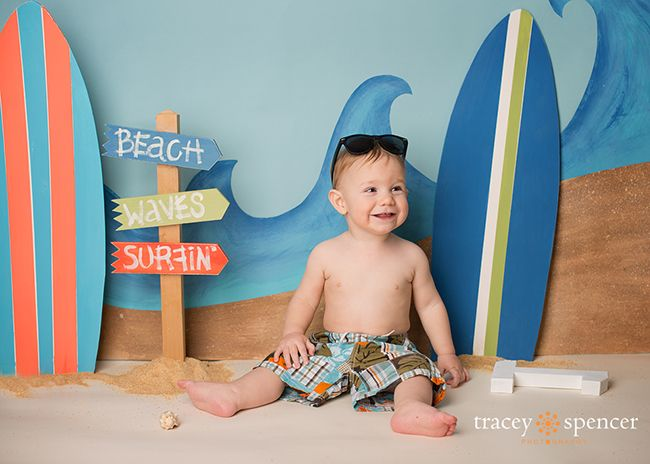 Beach Scene Prop Idea... By Tracey Spencer Photography