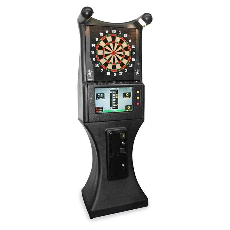Arachnid Galaxy II Commercial Grade Arcade Electronic Dart Board Complete Set - Reconditioned | from hayneedle.com
