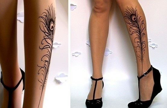 .Peacock Feathers, Awesome Tattoo, Tattoo Tights, Legs Tattoo, Sexy Sexy, A Tattoo, Peacocks Feathers Tattoo, Peacocks Tattoo, Cool Tattoo