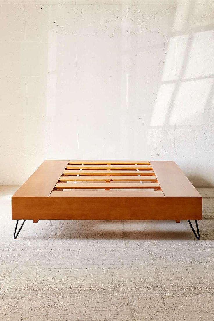 Stuff your stuff platform bed - Border Storage Platform Bed