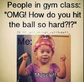 haha, except I'm the one asking the question... | Softball ...