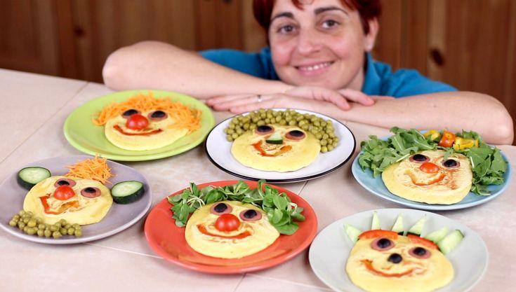 Pancakes salati per bambini con wurstel e verdure, idee divertenti per convincere i bambini a mangiare le verdure e coinvolgerli nella preparazione