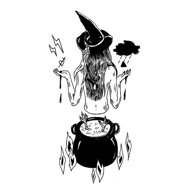 witch drawing tumblr - Google Search - 34.7KB