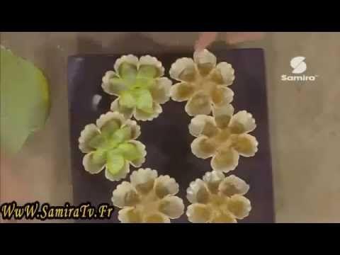 طريقة عمل حلوة سليلات Samira Tv , YouTube
