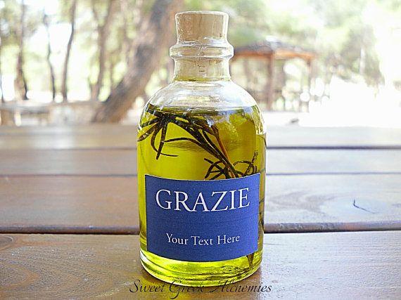 25 pcs Italian Style Olive Oil Favors 60ml / 2oz Olive Oil