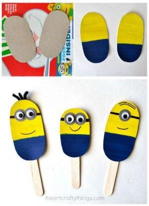 DIY minions puppets
