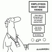 For the Hand Hygiene Police....