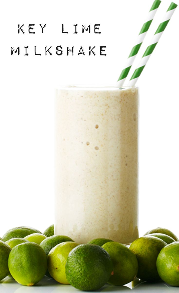 Key Lime Pie Milkshake recipe #BiteMeMore