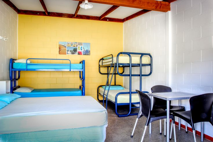 The Lodge  Russell-Orongo Bay Holiday Park. Lodge rooms without kitchens accommodate up to six guests. All rooms contain a fridge and a table and chairs. Beds have fitted sheets, pillows and pillow slips. Guests supply or hire duvets or sleeping bag and towels.