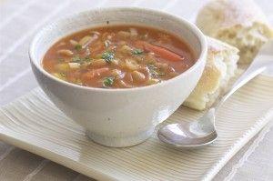 Суп из кролика для детей с рисом