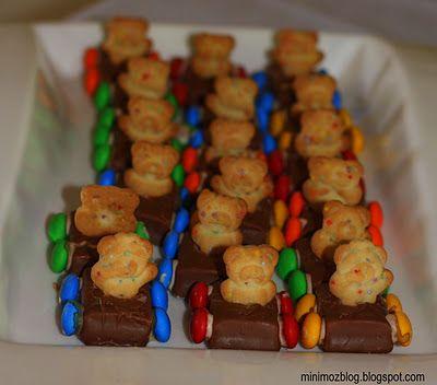 Food Craft- Teddy Bear Cars