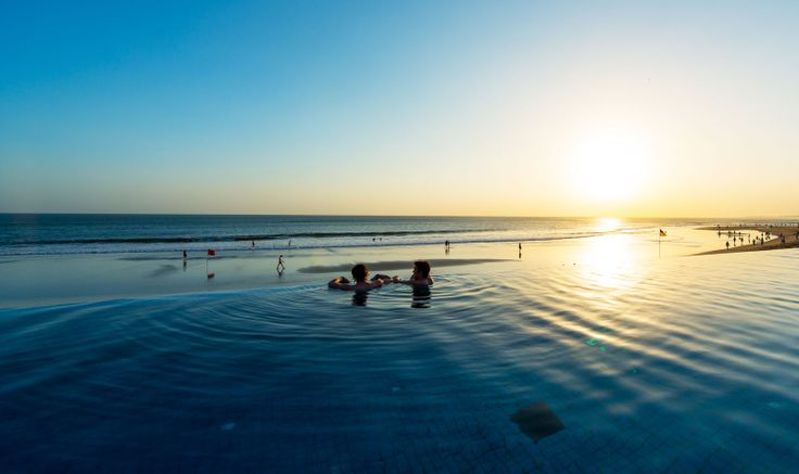 Infinity pool at The Legian Bali   Boutique Luxury Hotel Indonesia   GHM Hotels