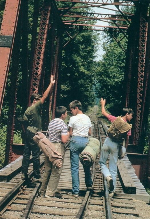 """""""It happens sometimes. Friends come in and out of our lives, like busboys in a restaurant.""""- Stand by Me"""