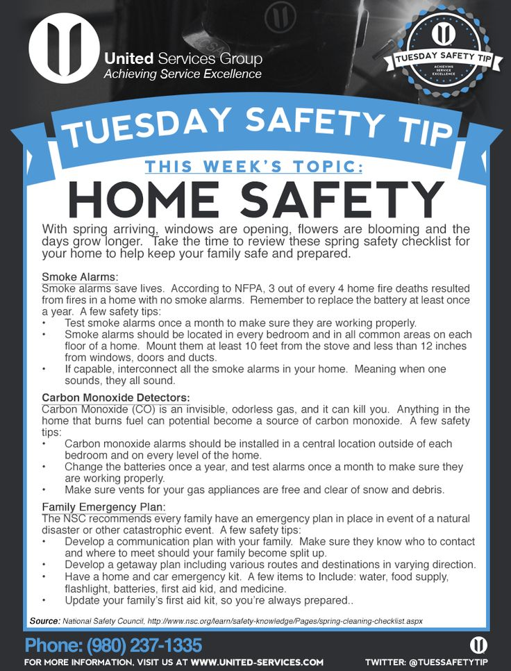 89 best safety tips images on pinterest safety tips for Home safety facts