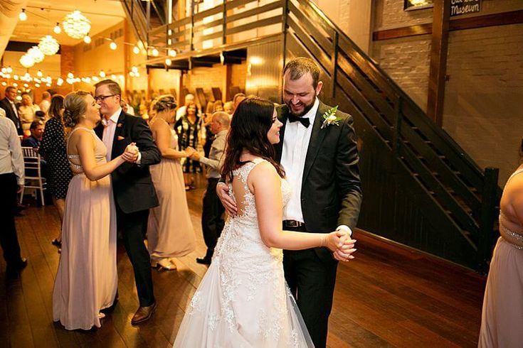 Eagle Farm Racecourse - Bridal Party Dancing | Captured by Milque | G&M Event Group #WeddingDJ #BrisbaneWedding #BrisbaneRacingClub #FunWedding #happybride #bridalwaltz #wedding #reception