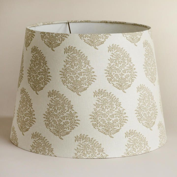 cost plus world market natural paisley table lamp shade on. Black Bedroom Furniture Sets. Home Design Ideas