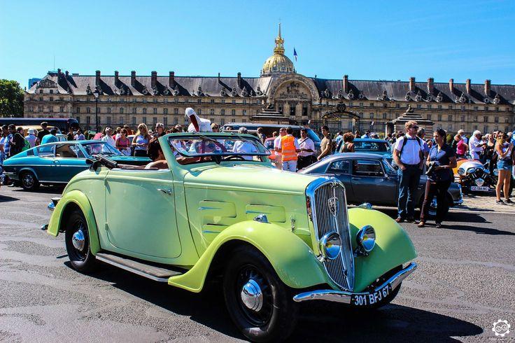 #Peugeot #301 #Roadster à la Traversée de #Paris en #Voitures #Anciennes #TdP2015 Article original : http://newsdanciennes.com/2015/08/03/grand-format-news-danciennes-a-la-traversee-de-paris-2/ #Cars #Vintage