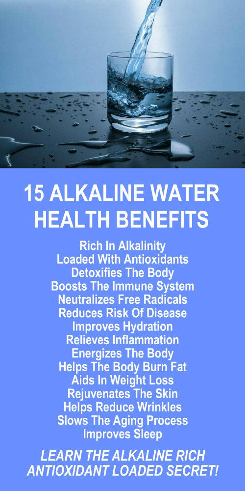 15 Alkaline Water Health Benefits. Learn about alkaline rich Kangen Water; the hydrogen rich, antioxidant loaded, ionized water that neutralizes free radicals that cause oxidative stress which can lead to a variety of health issues including disease such as cancer. Increase energy, boost stamina, improve recovery time, lose weight and burn fat more efficiently. Change your water, change your life. LEARN MORE #Alkaline #Antioxidants #Water #Health #Benefits