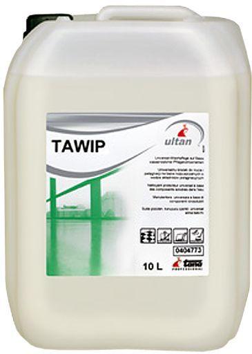 Solutia concentrata Tawip se aplica usor si in timp ce curata lasa in urma un strat protector lucios antialunecare.