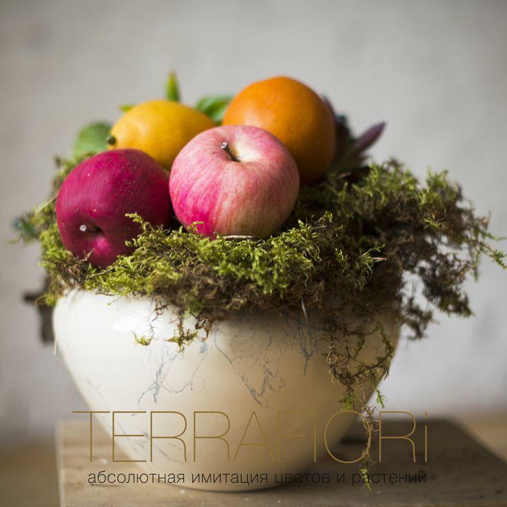 #фрукты #искуственныефрукты #композиция #fuits #artificial #artificialfruits #terrafiori