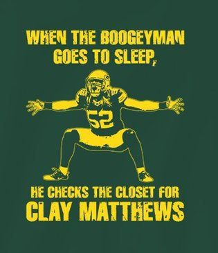 Clay Matthews @Brooke Lettau
