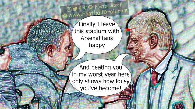 #Mourinho #Wenger #ManUnited #Arsenal #ARSMUN #Chelsea #EPL #Pogba #Ibrahimovic #EuropaLeague #ManCity #Liverpool #Neymar #Messi #Ronaldo #FCBarcelona #Jokes #Comic #Laughter #Laugh #Football #FootballDroll #Funny #CR7 #RealMadrid