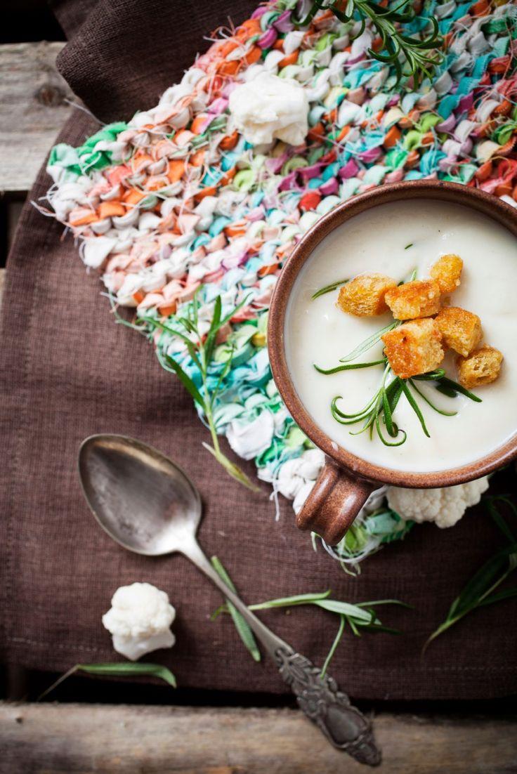 Zupa kalafiorowa - przepis na TRADYCYJNĄ zupę kalafiorową