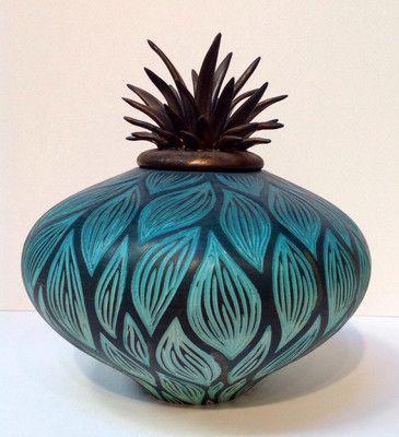 Natalie Blake American Craftsman Ceramic Vessel