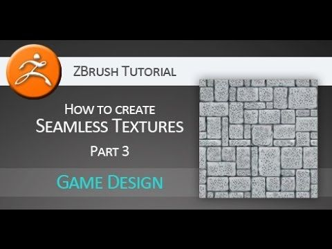 Tutorial: Creating seamless texture for games PART 3 (Pixologic ZBrush)