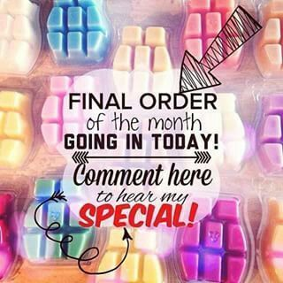 Final Scentsy order of the month goin in today....comment her to hear my special. #scentsbykris