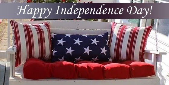 Happy #FourthofJuly! Here's some of our favorite #IndependenceDay decorations! #4thofJuly #CurbAppeal