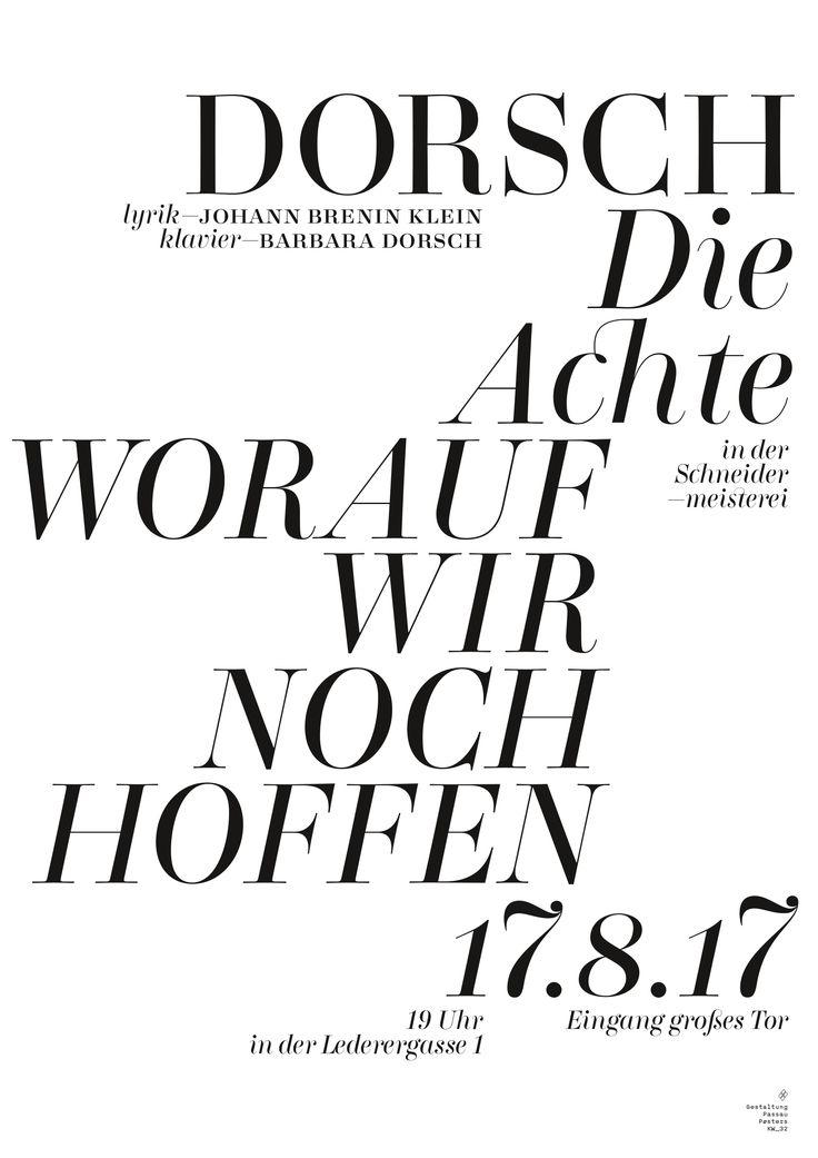 #passau_posters #kw_32 #dorsch #barbara #klavier #lyrics #piano #passau #poster #posters #plakat #postershow #typoposter #typoplakat #typography #typograhyinspired #typo #typo_weekly #blackandwhitetypography #blackandwhite #minimal #graphicdesign #nicethat #instadaily #manuelkreuzer #manuel_kreuzer