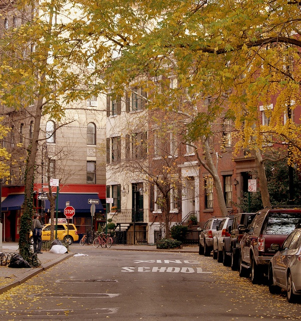 West Village, Grove Street Between Hudson And Bedford, NYC