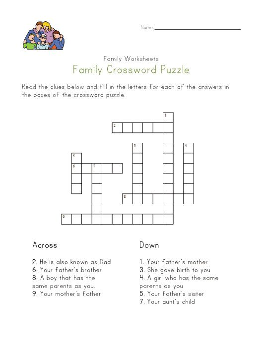 Pennsylvania Crossword Puzzle Worksheets : Images about reunion activities on pinterest