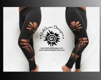 PRACHTIG één - Junior / vrouwen Leggings knippen en geweven donker grijze legging, Party Wear, Festival slijtage, Beach Wear kleine, middelgrote en grote L-3008