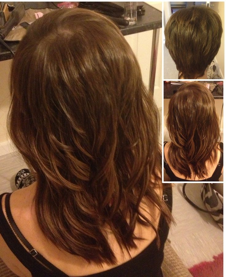 27 best short hair styles images on pinterest hairstyles auburn what an amazing change for our client from very short hair fitted with pre bonded extensions in mixed browns and cut into a choppy mid length style pmusecretfo Image collections