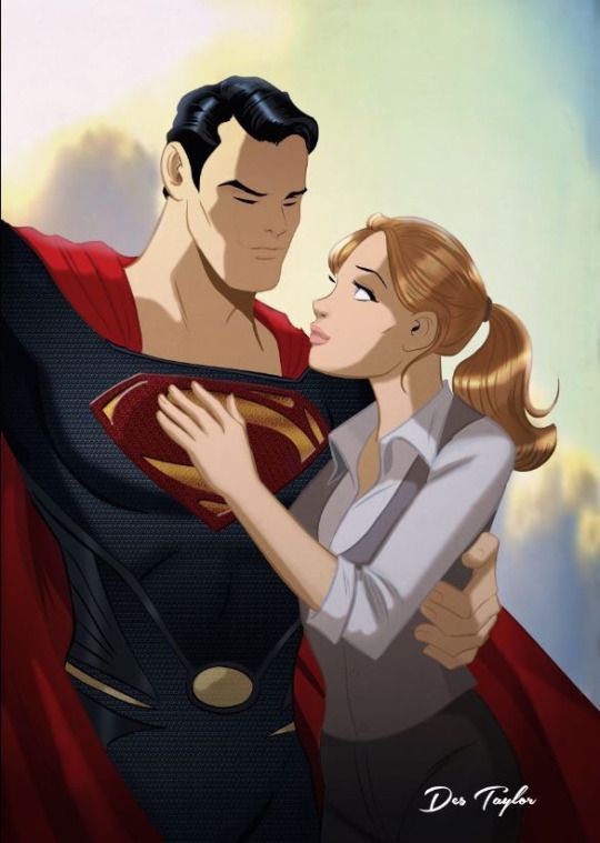 Superman and Lois Lane by Des Taylor