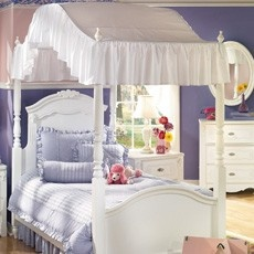 I had a full size canopy bed - loved it! & Best 25+ Full size canopy bed ideas on Pinterest | Canopy bed ...