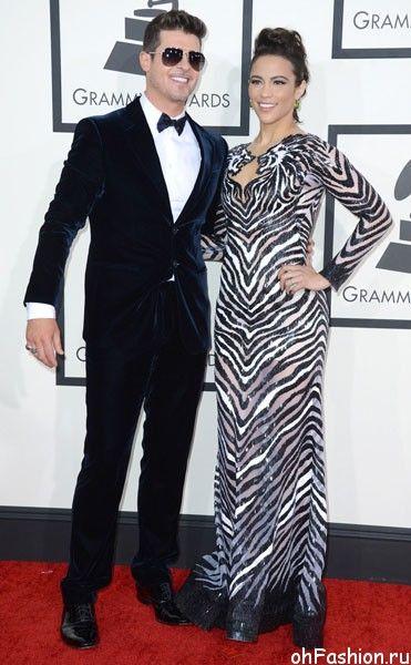 Робин Тик на церемонии Grammy Awards 2014