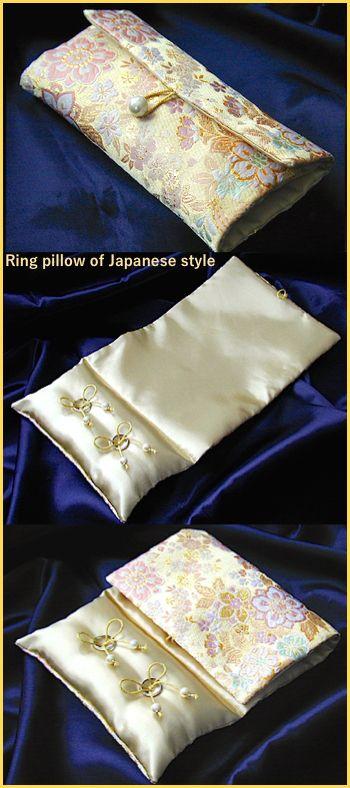 ateliersarah's Japanese-style ring pillow