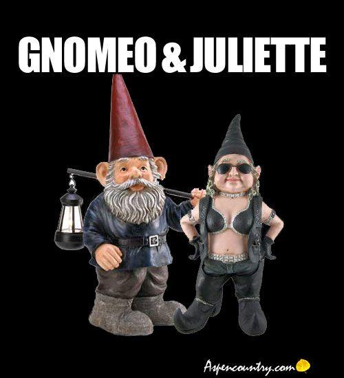 Funny Gnome Memes: Gnomeo & Juliette