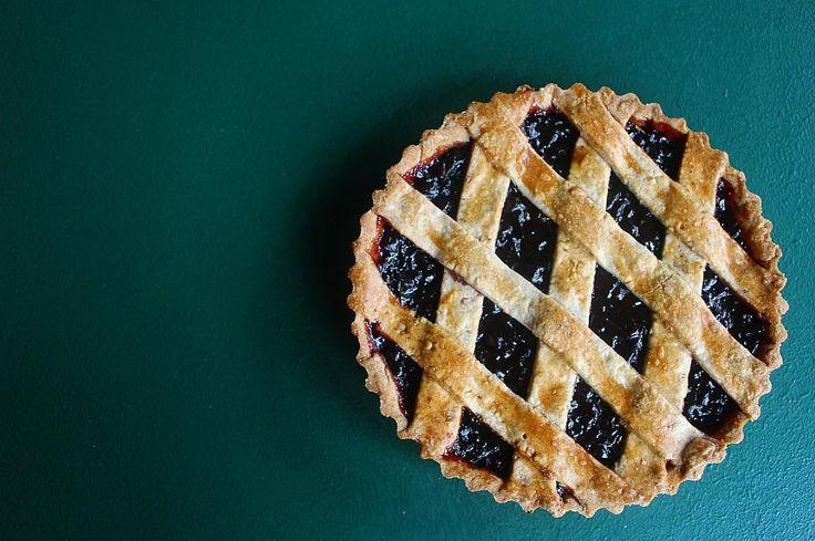 Hazelnut pastry, spiced plum jam filling, happy tummies. #beurre #melbourne #dessert #patisserie
