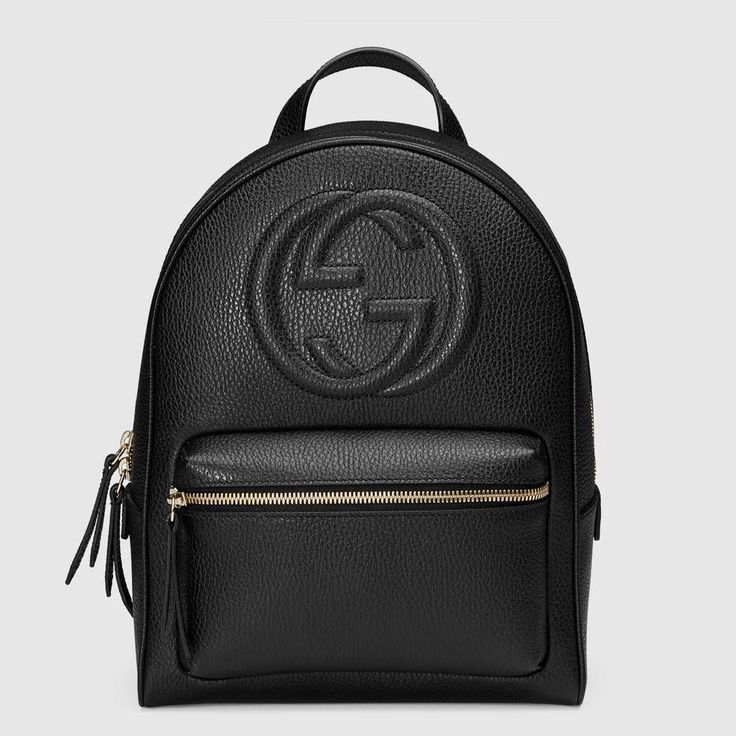 Soho leather chain backpack Gucci