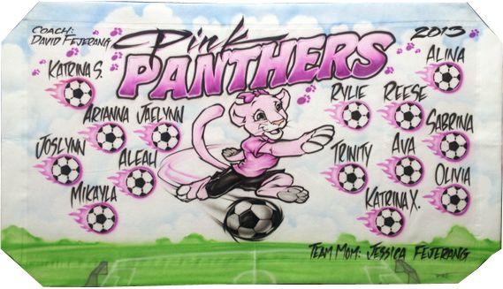 Pink Panther Football Team