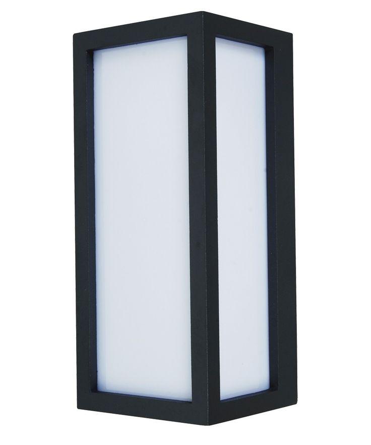 Tucson 1 Light Plain Exterior Wall Bracket in Charcoal | Outdoor House Lighting | Outdoor Lighting | Lighting