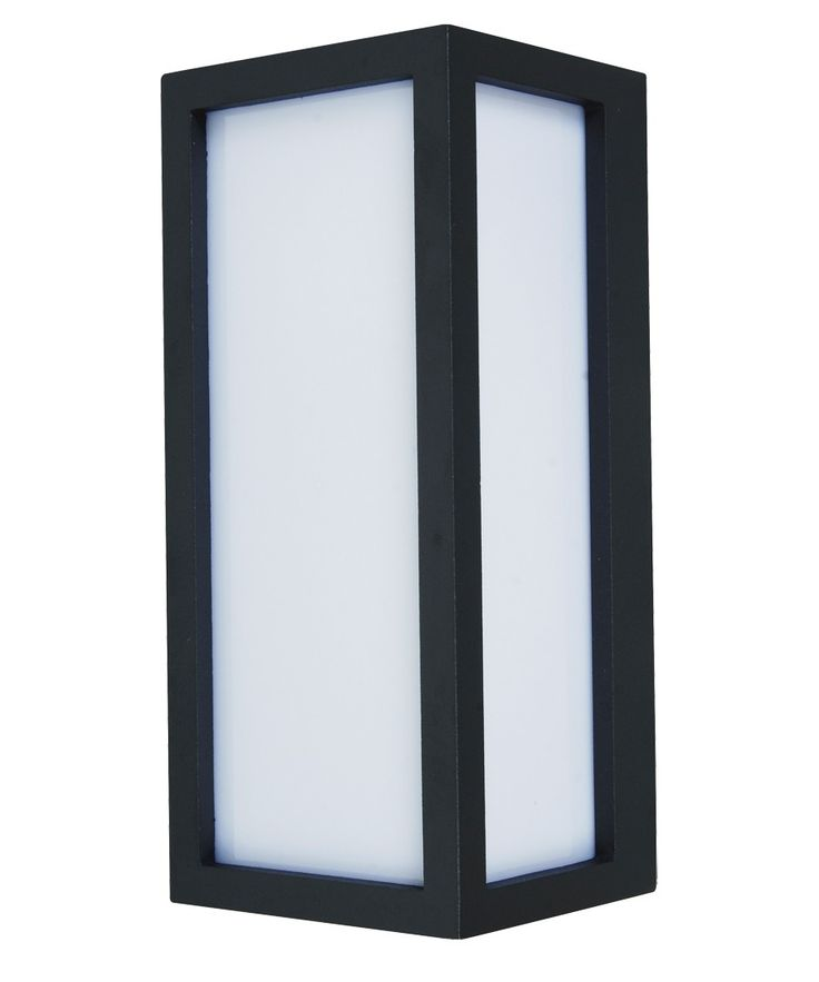 Tucson 1 Light Plain Exterior Wall Bracket in Charcoal | Outdoor House Lighting | Outdoor Lighting | Lighting